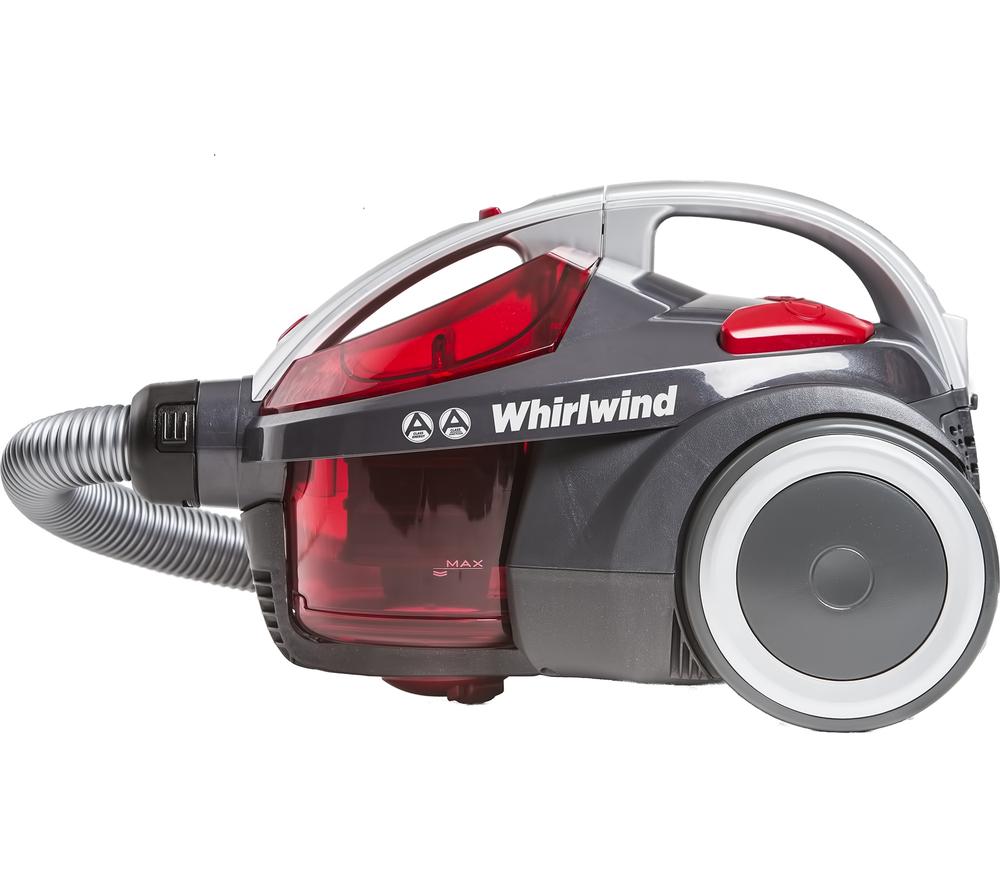 Hoover Whirlwind Se71 Wr01 Cylinder Bagless Vacuum Cleaner