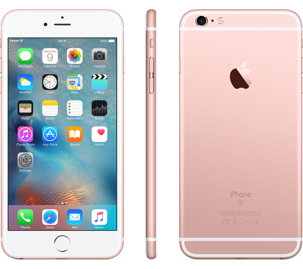 apple iphone 6s plus unlocked smartphone 16 gb ios 9 rose gold ebay. Black Bedroom Furniture Sets. Home Design Ideas