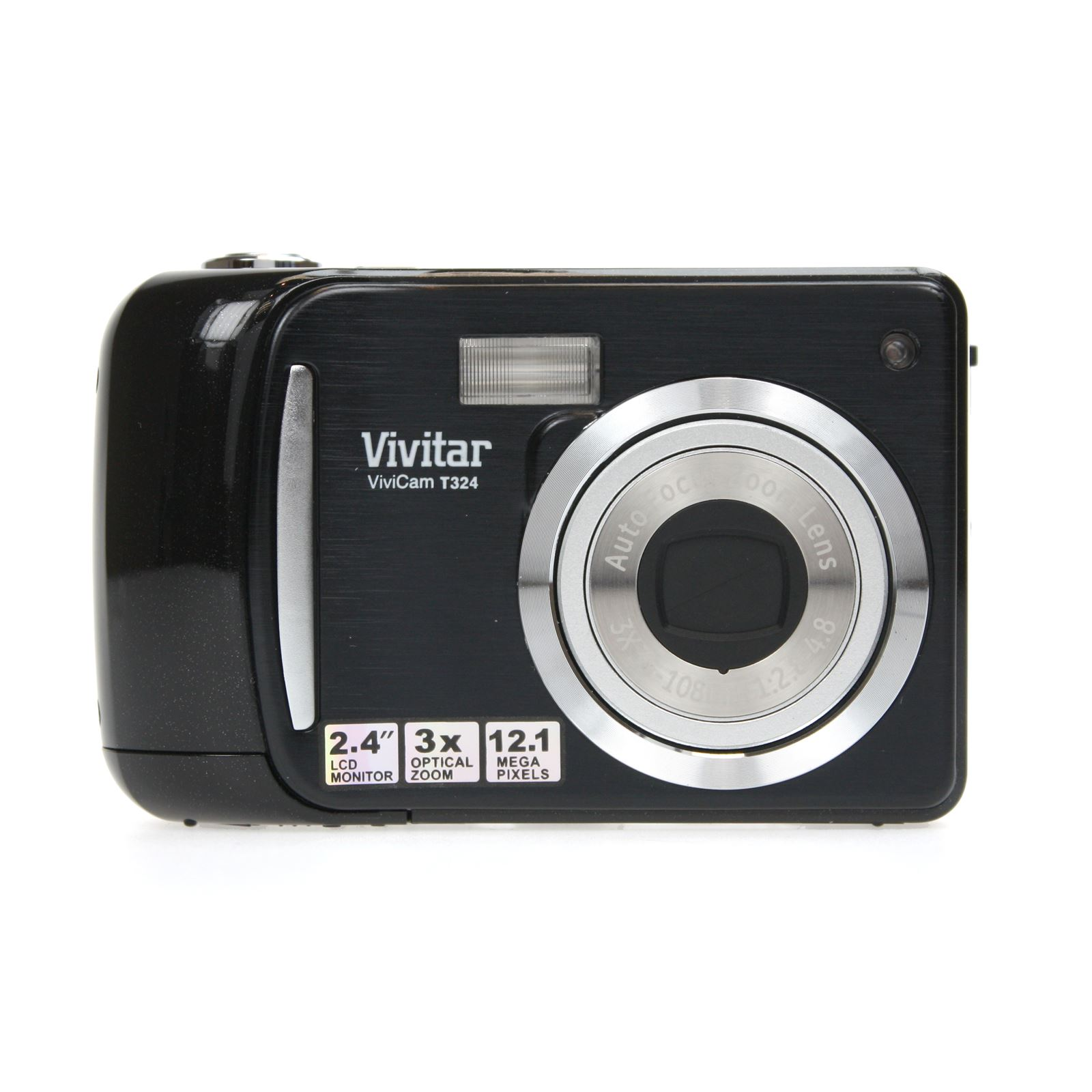 vivitar vivicam t324 compact camera 12 mp 3x optical zoom