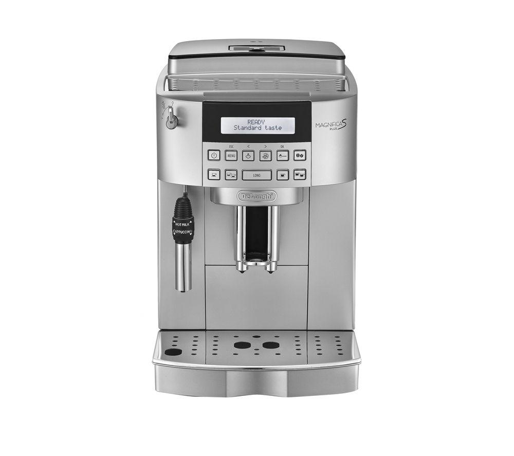 delonghi magnifica s ecam bean to cup coffee machine silver 80043. Black Bedroom Furniture Sets. Home Design Ideas