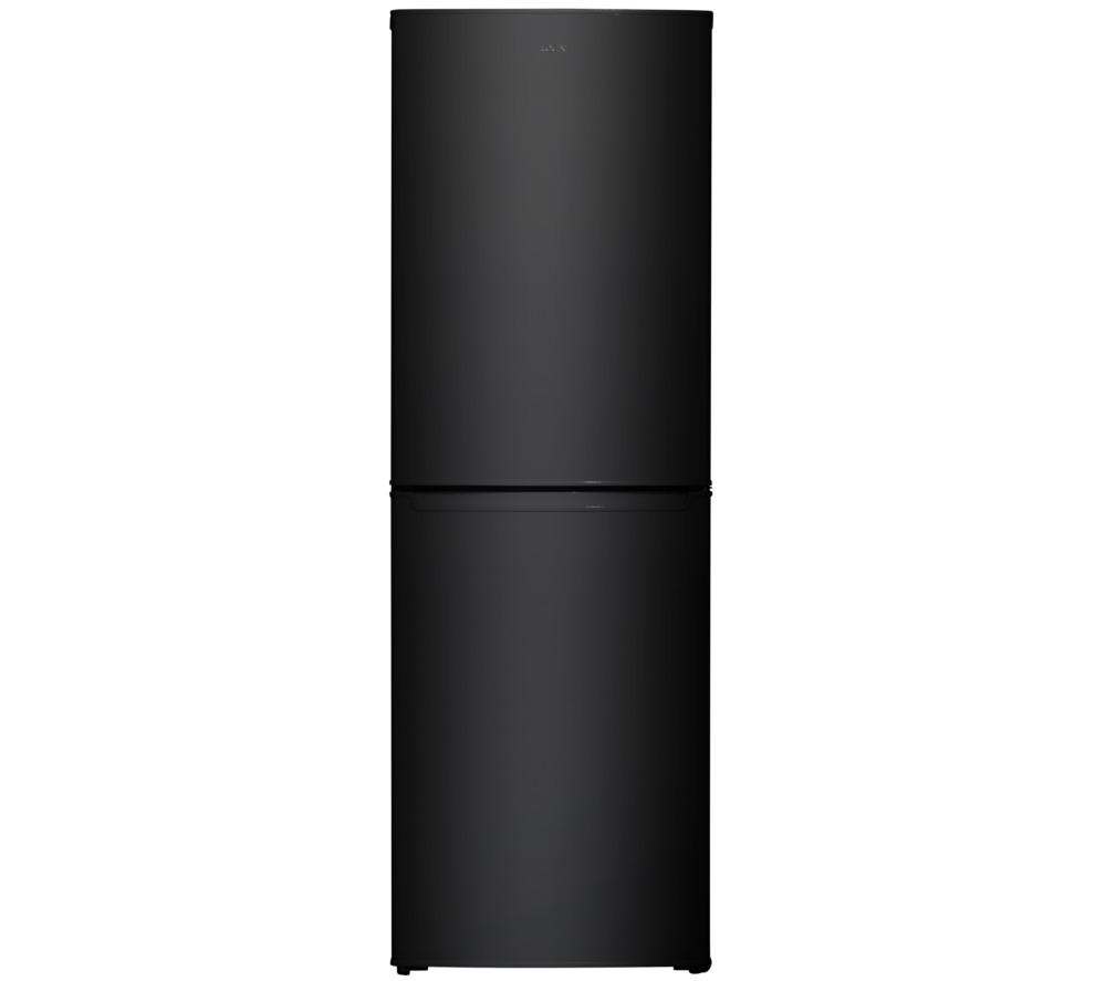 logik lfc55b16 fridge freezer a frost free 200 litres black ebay. Black Bedroom Furniture Sets. Home Design Ideas