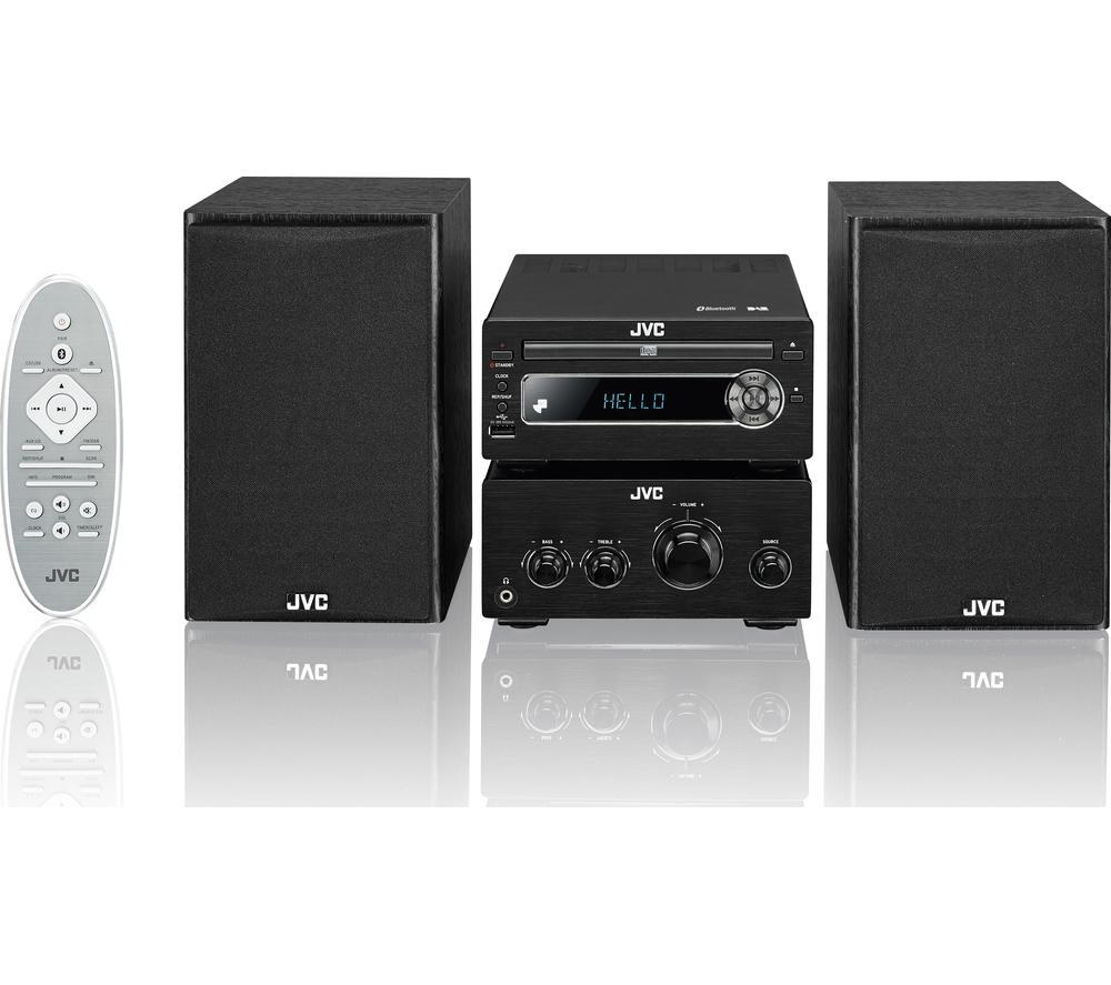 Jvc Ux D750 Wireless 100 Watt Traditional Dab Hi Fi System