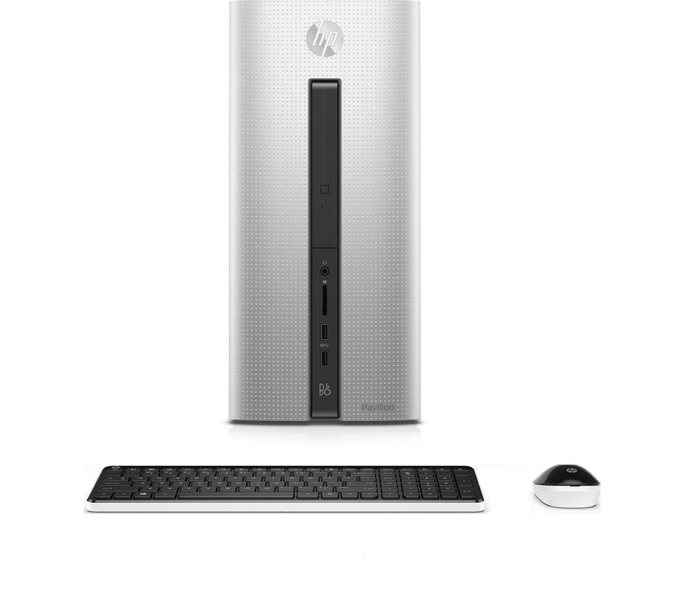 hp pavilion 550 200na desktop pc silver intel core i5. Black Bedroom Furniture Sets. Home Design Ideas