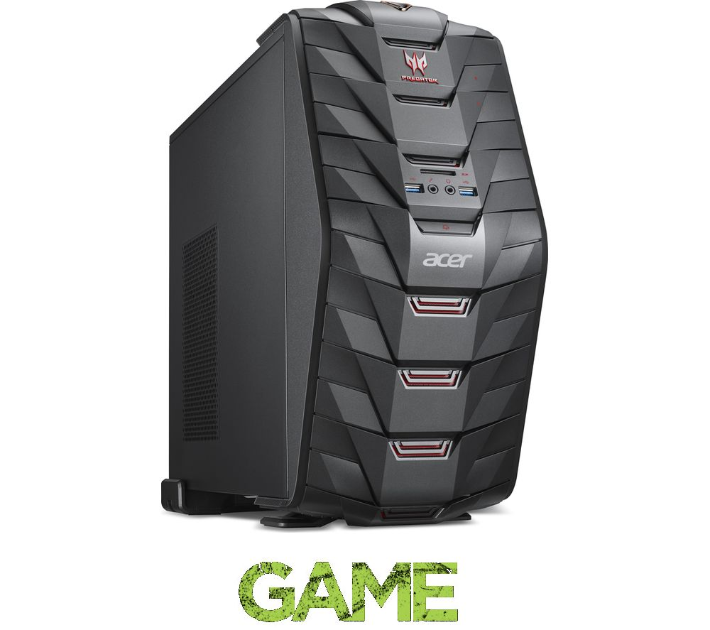 acer predator g3 710 2tb windows 10 gaming pc intel core. Black Bedroom Furniture Sets. Home Design Ideas