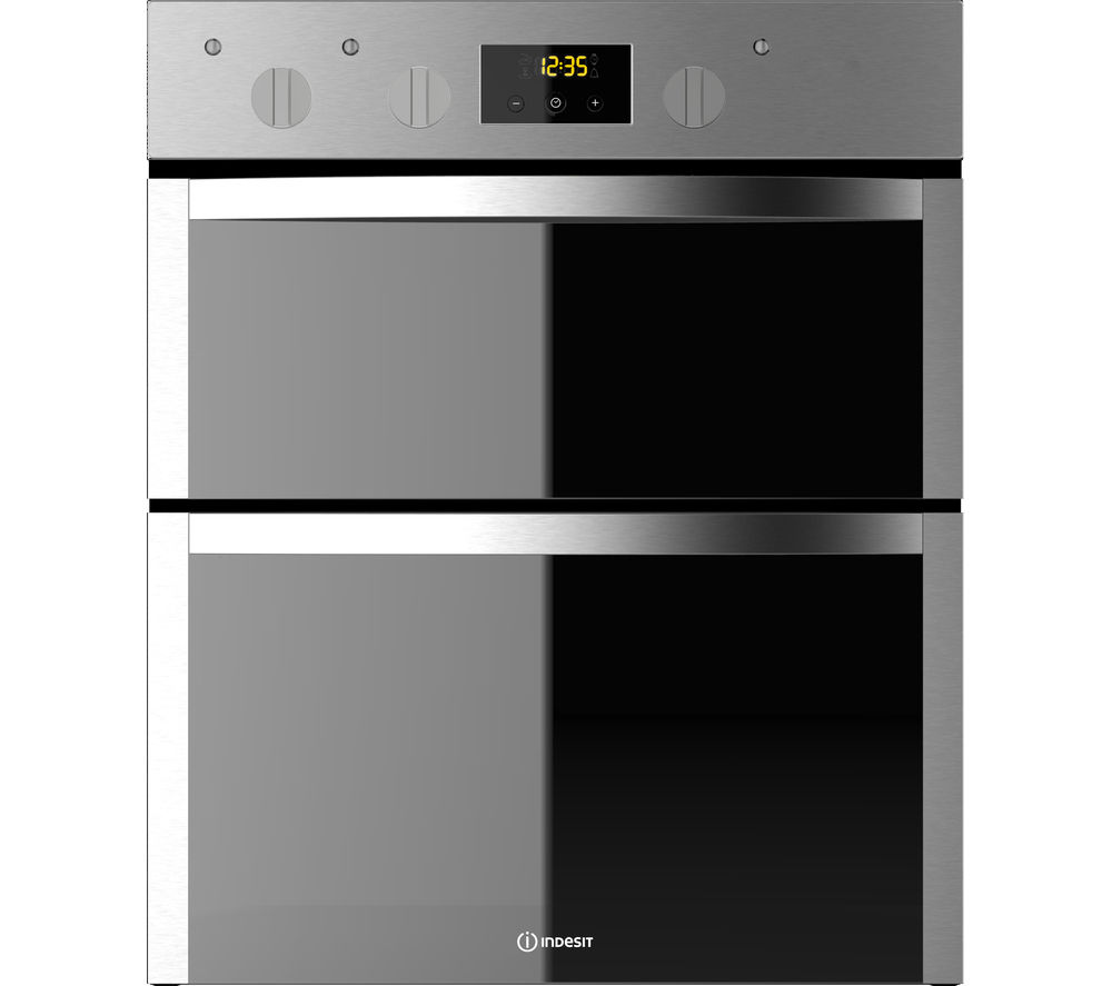 INDESIT Aria DDU 5340 C IX Built In Electric Double Oven Stainless ...