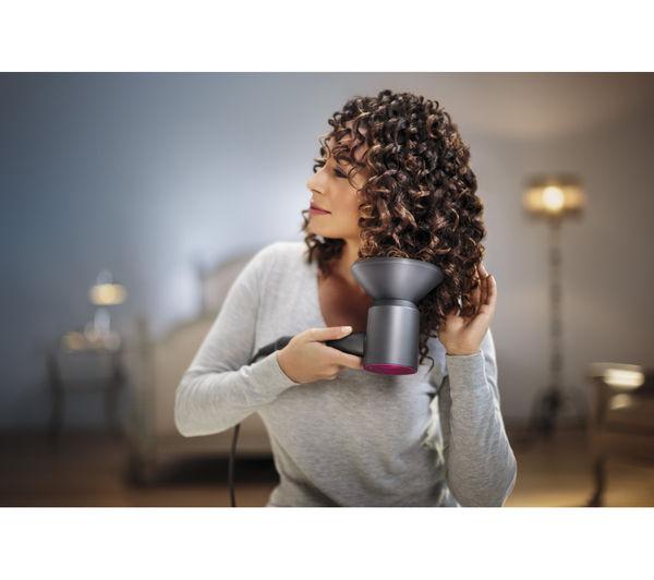 dyson supersonic s che cheveux 160w avec 3 vitesse r glages fer fuchsia. Black Bedroom Furniture Sets. Home Design Ideas