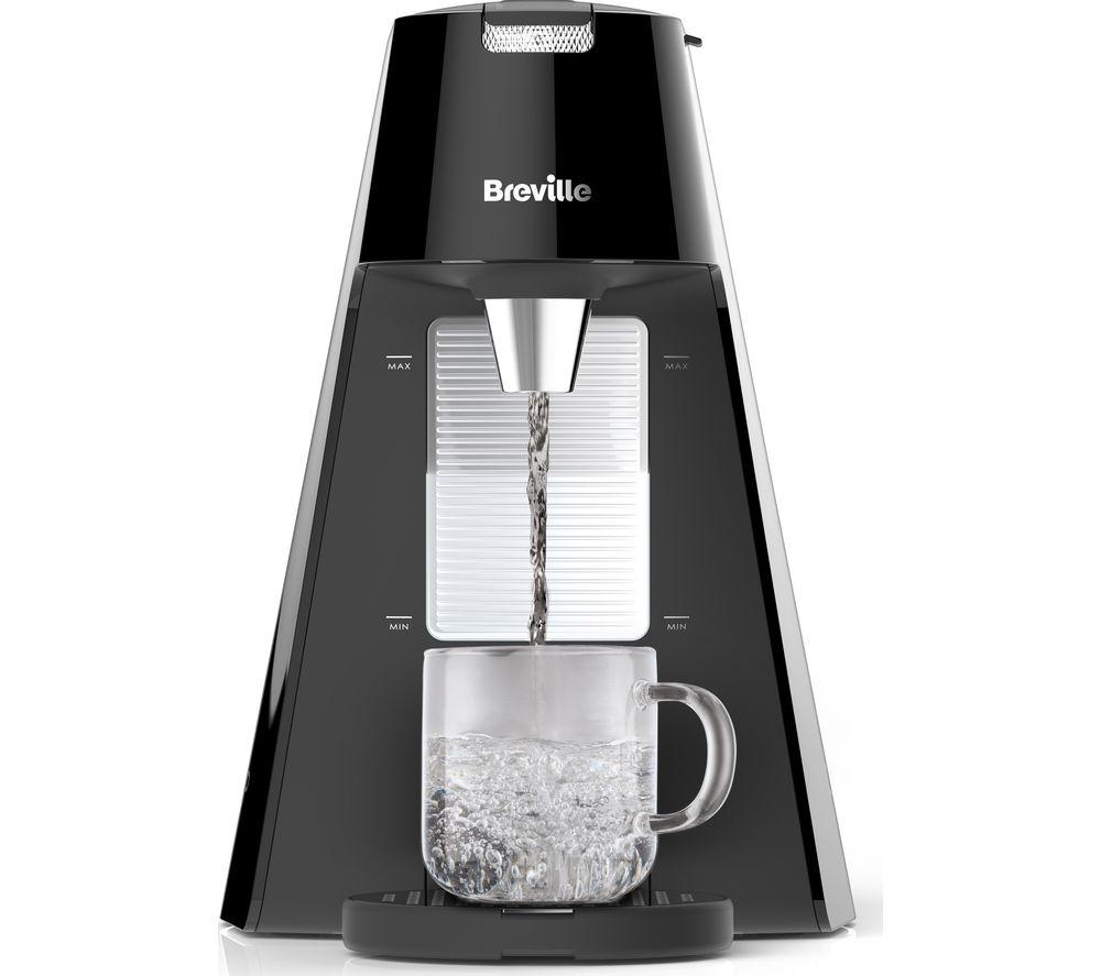 breville hot cup vkt124 8 cup hot water dispenser black. Black Bedroom Furniture Sets. Home Design Ideas