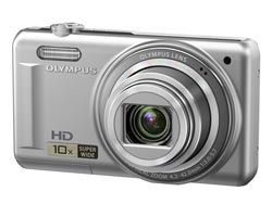 Olympus D720 Slimline Metal body 14 Megapixels Digital Camera - Silver Enlarged Preview