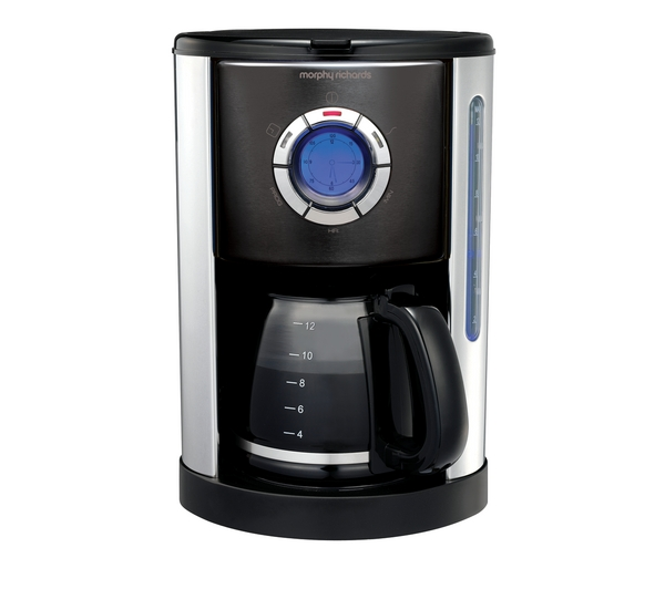 MORPHY RICHARDS 47095 Accents Coffee Maker - Black - Open & Heavily Damaged Box eBay