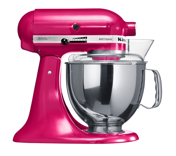 kitchenaid 5ksm150psbri artisan stand mixer raspberry ice new