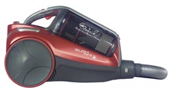 HOOVER TCR4233 Rush Pets Cylinder Bagless Vacuum Cleaner - Red & Grey Enlarged Preview