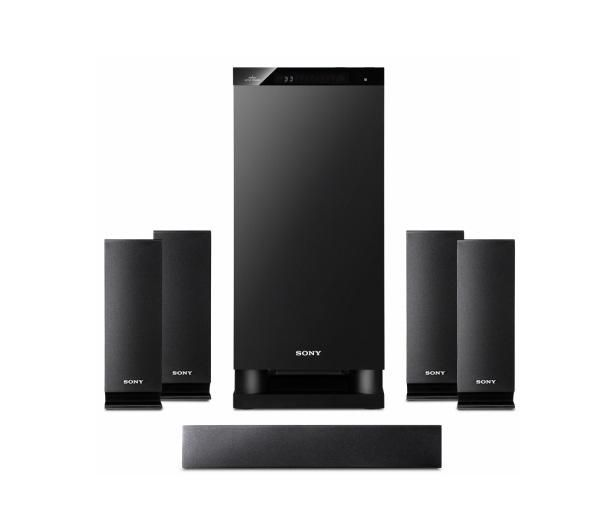 sony htas5 cek 5 1ch 3d home cinema system ebay. Black Bedroom Furniture Sets. Home Design Ideas