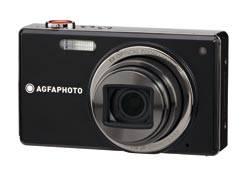 Agfa Photo Optima 3 Compact Digital Camera - Black, 8x Zoom, 3.0 Screen Size  Enlarged Preview