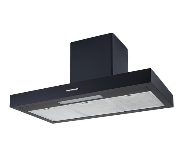 logik l90chdb11 chimney cooker hood 3 fan speeds metal. Black Bedroom Furniture Sets. Home Design Ideas