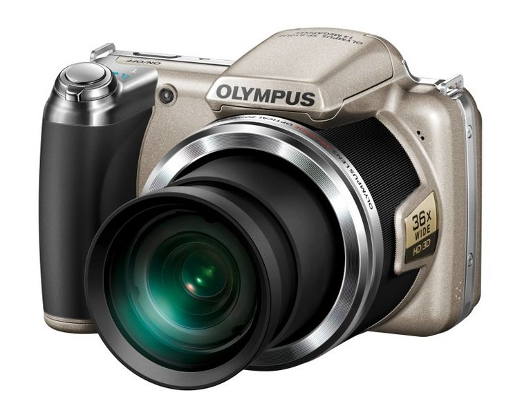 Olympus SP-810UZ Compact Digital Camera - Silver Enlarged Preview
