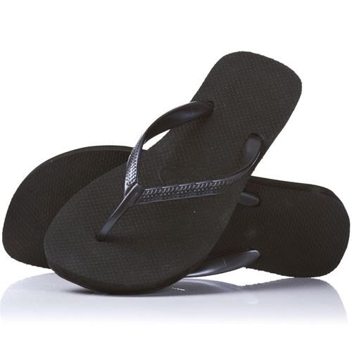 Ladies-Womans-Black-Flip-Flops-Sandals-Small-Medium-Large-Size-5-6-7-8