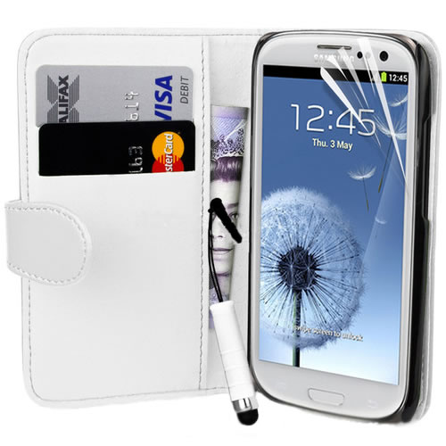 Executive-Leather-Magnetic-Wallet-Flip-Case-Cover-For-Samsung-i9300-Galaxy-S3