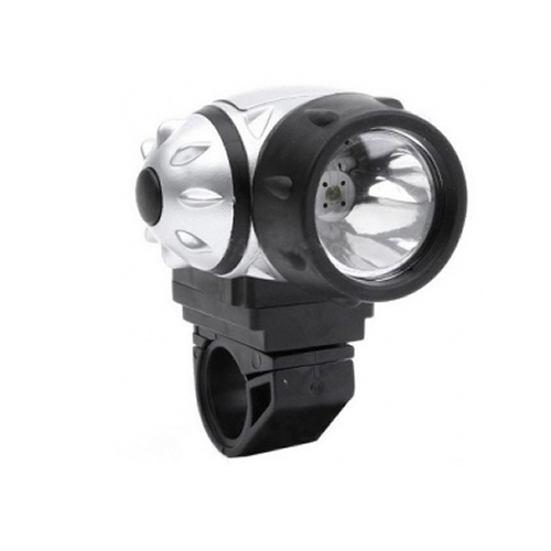 High Power Super Bright 1 Led Wide Beam Waterproof Bike Light Enlarged Preview