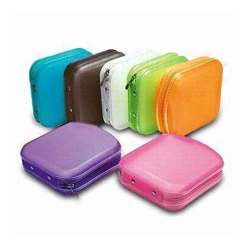 40 Pocket CD And DVD Storage Holder Protector Wallet Carry Case - Black