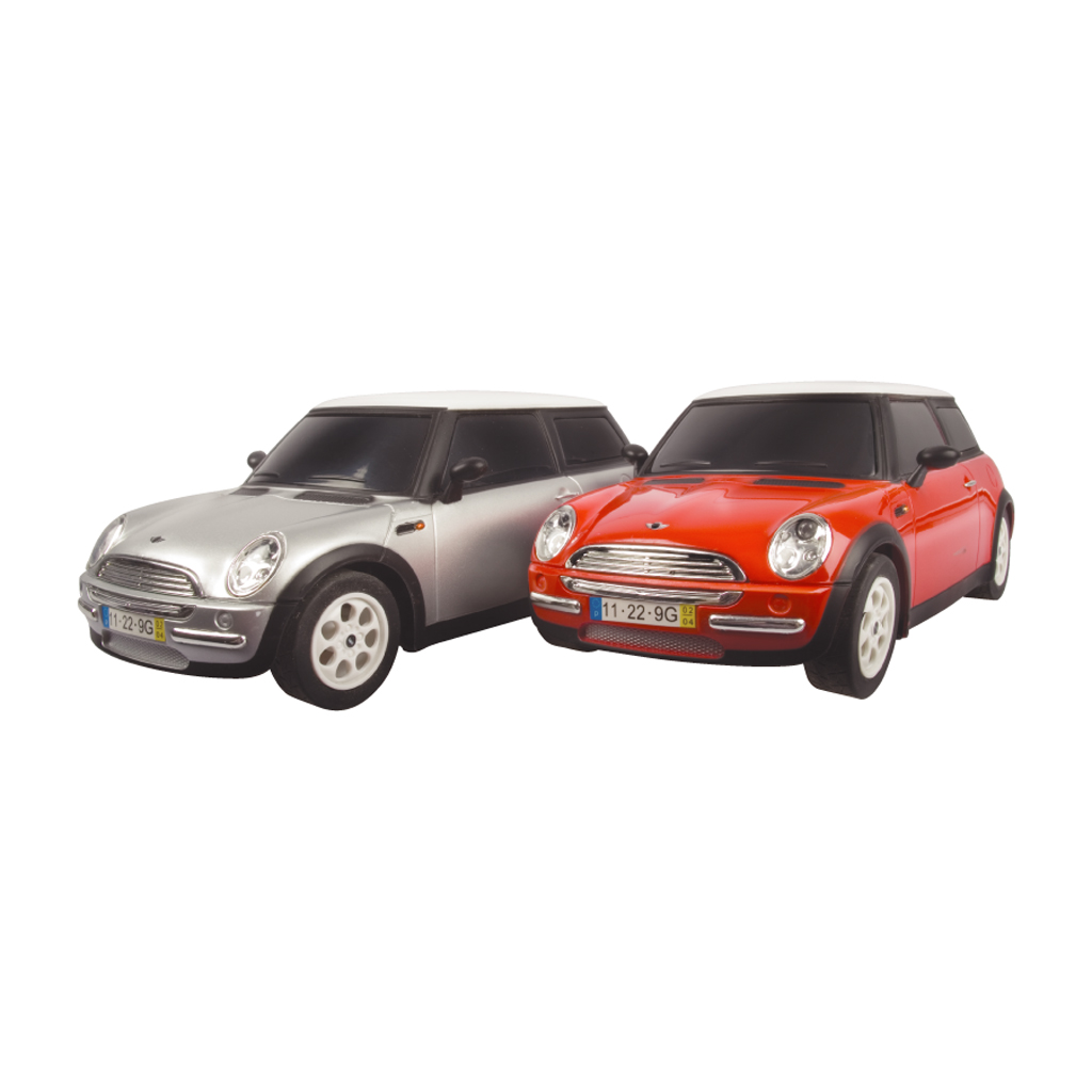 kids toy cars mini cooper racer twin pack radio remote control rc 2 pack gift. Black Bedroom Furniture Sets. Home Design Ideas