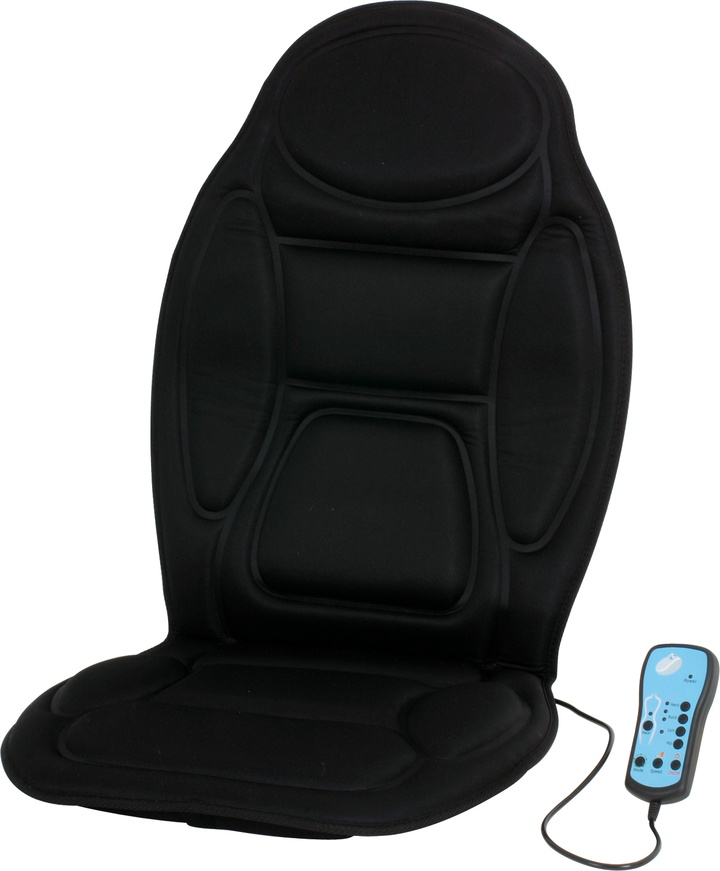 Vibrator heated car seat