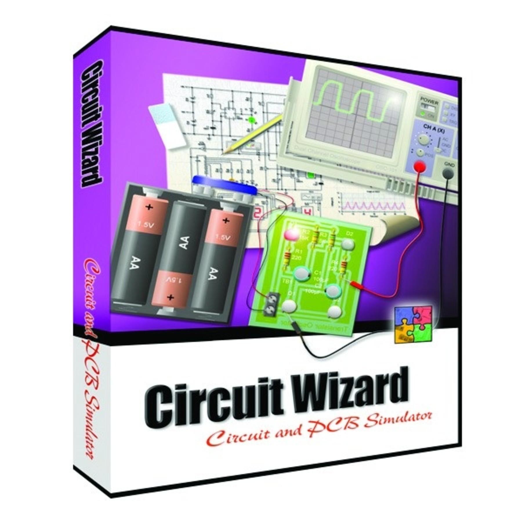 Circuit Wizard Pro PCB Design Board Simulation Software
