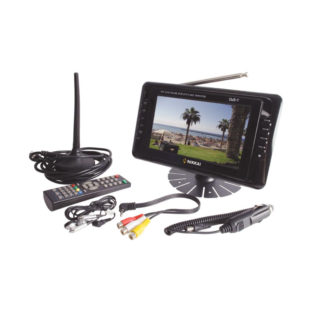 "Portable Tv With Freeview And Dvd Portable Toddler Travel Bed Portable Public Urinal Portable Satellite Tv Near Me: Nikkai 7"" LED Portable Digital Mini Freeview USB SD DVB-T"