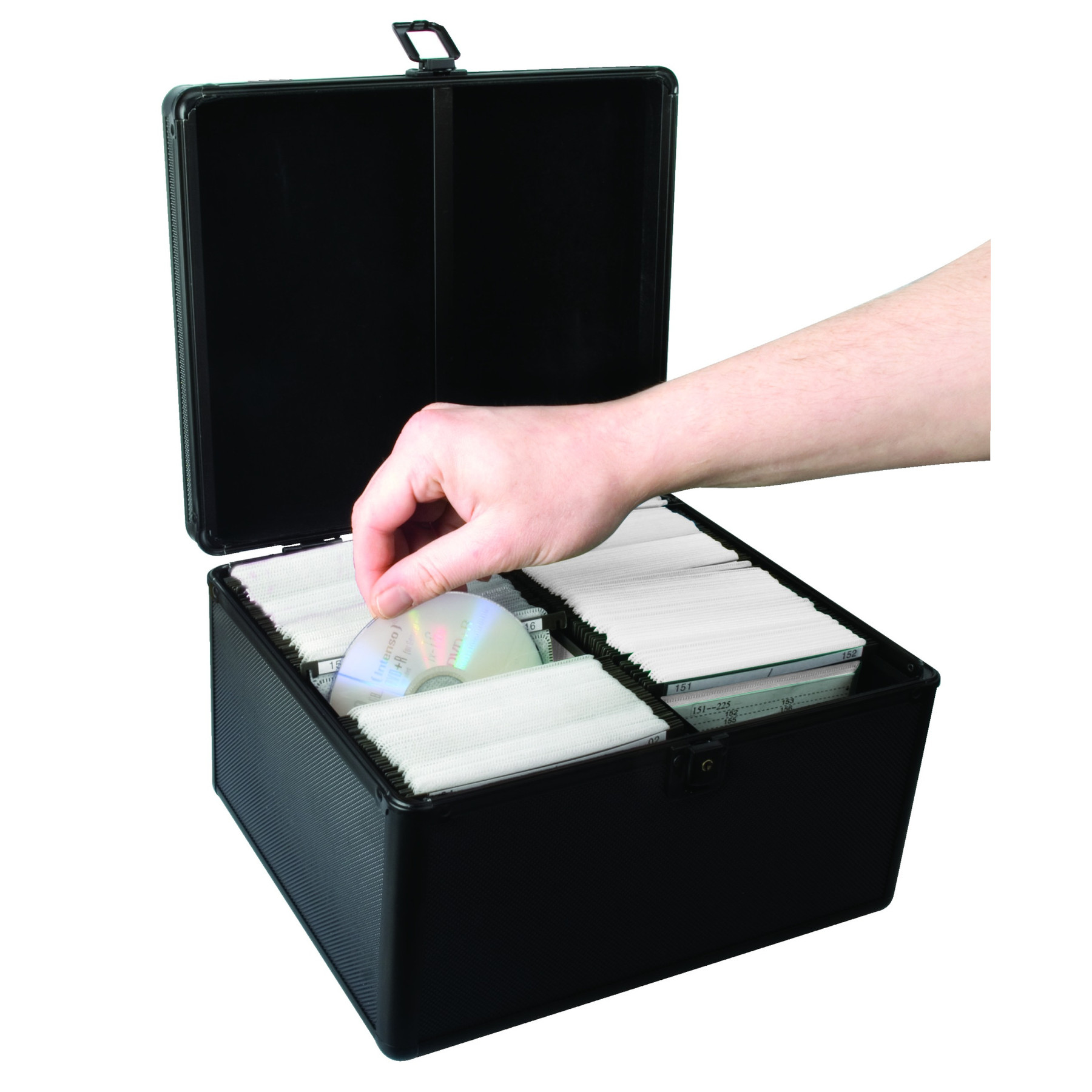 300 Cd Dvd Storage Case Double Sided Sleeves Box With