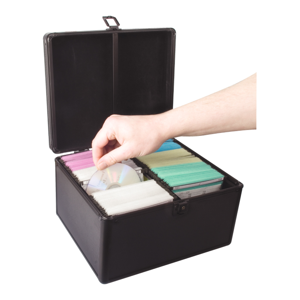 300 Cd Dvd Storage Case Double Sided Sleeves Box New Ebay