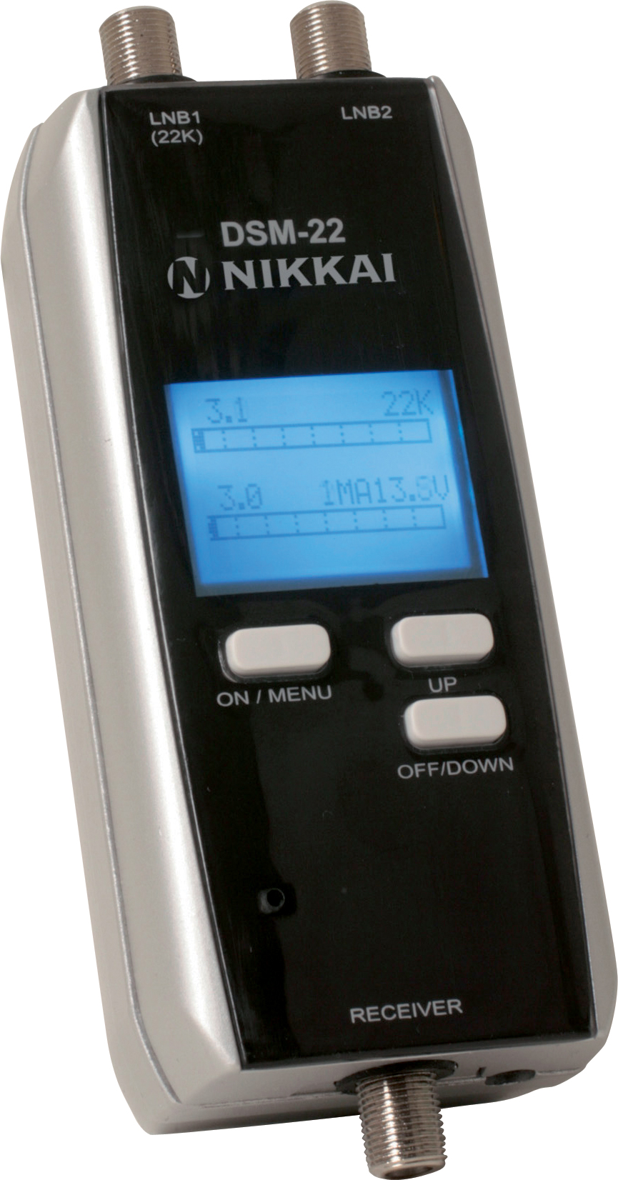 Details about NIKKAI DIGITAL DUAL SATELLITE DISH SIGNAL METER FINDER