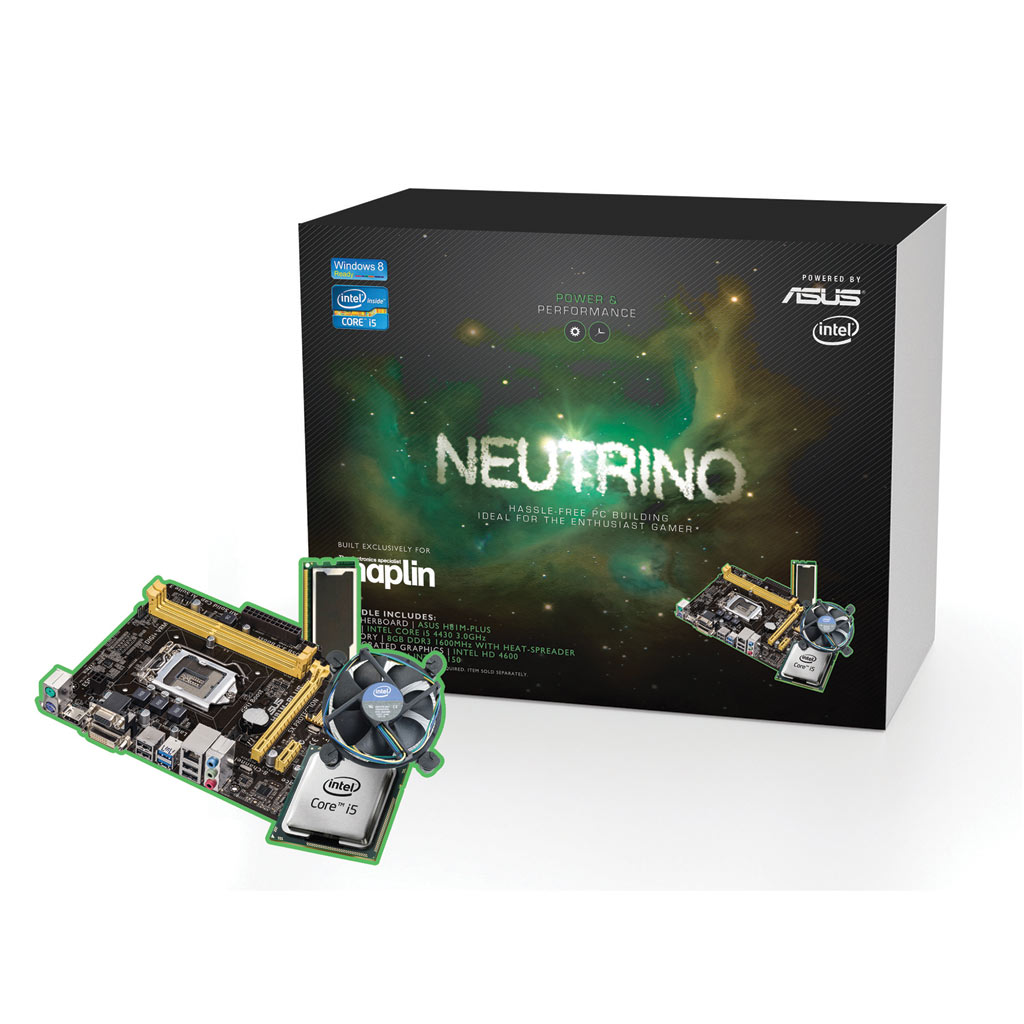 neutrino intel haswell core i5 3 0ghz 8gb gaming. Black Bedroom Furniture Sets. Home Design Ideas
