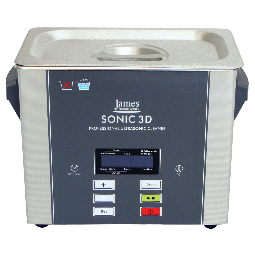 Frequency Ultrasonic Cleaner : Sonic d l professional litre w ultrasonic cleaner