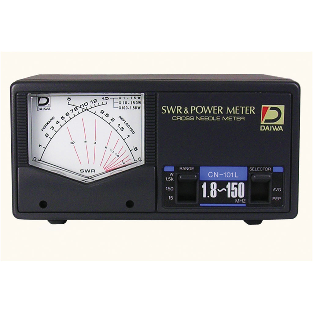 Power Meters In Line : Daiwa cn l power swr meter mhz to hf vhf in