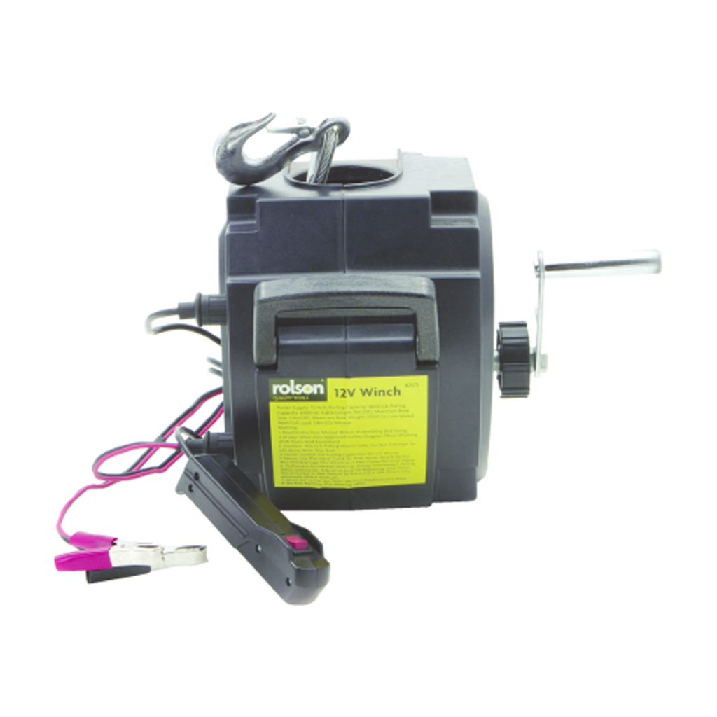 120 volt winch with wireless remote control  120  free