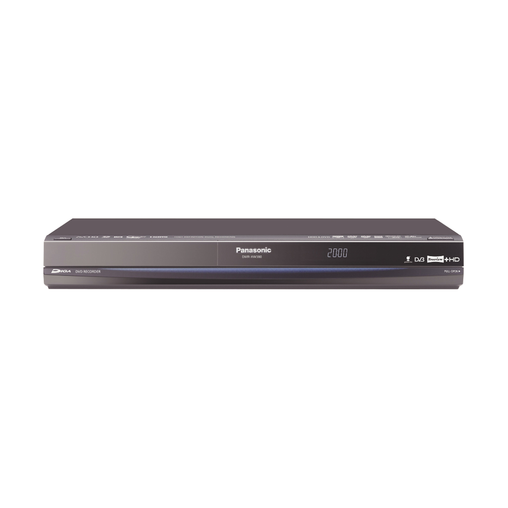 panasonic 250gb freeview hd pvr receiver dvd recorder ebay. Black Bedroom Furniture Sets. Home Design Ideas