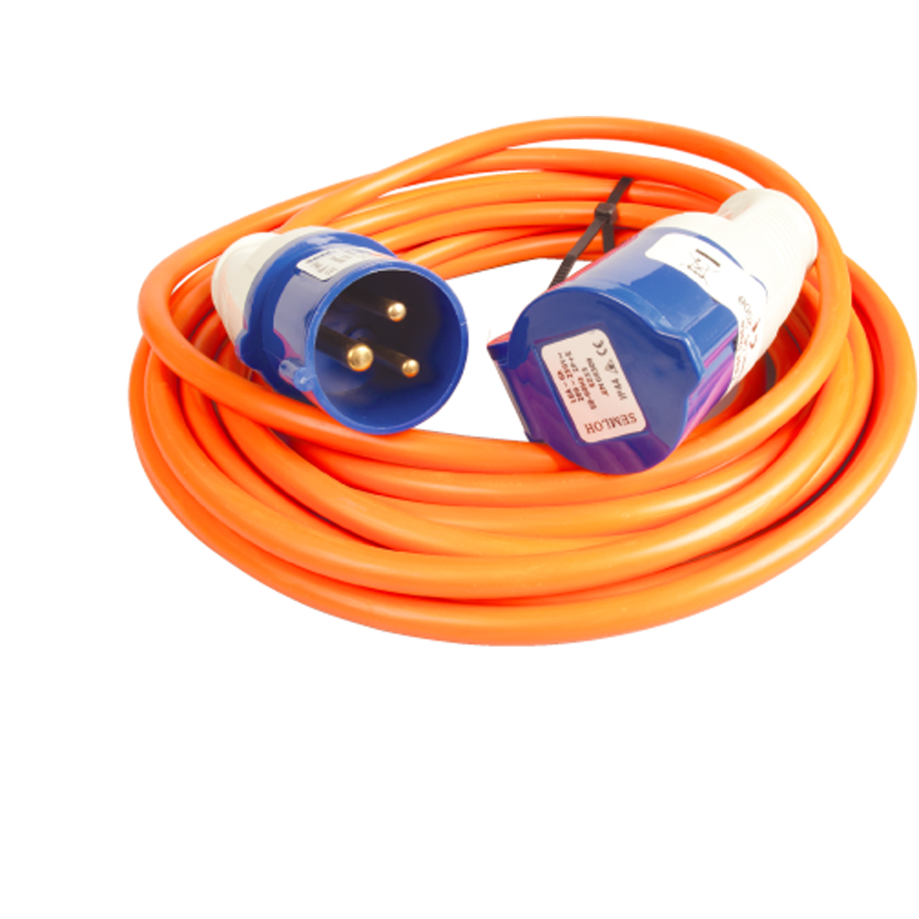 electric hook up extension lead The maypole electric 230v mains hook up 25m extension lead cable is in stock and sent on a next working day delivery.