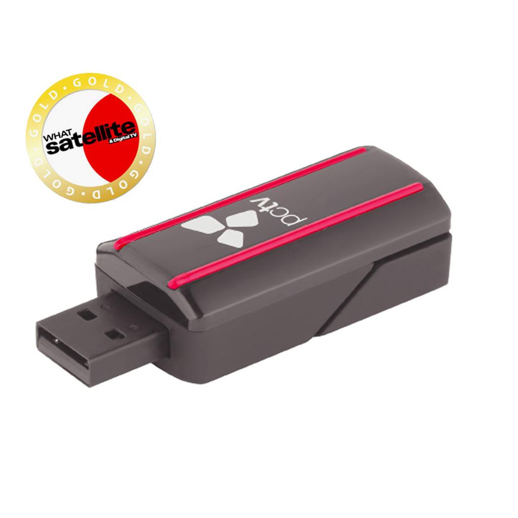 Hauppauge PCTV DVB-T2 HD Nanostick Receiver For PCs  (Freeview HD)