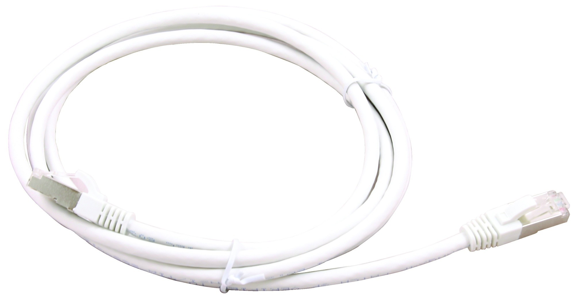 connectix network patch cable cat 6a 1 5m in white ethernet modem router lan pc