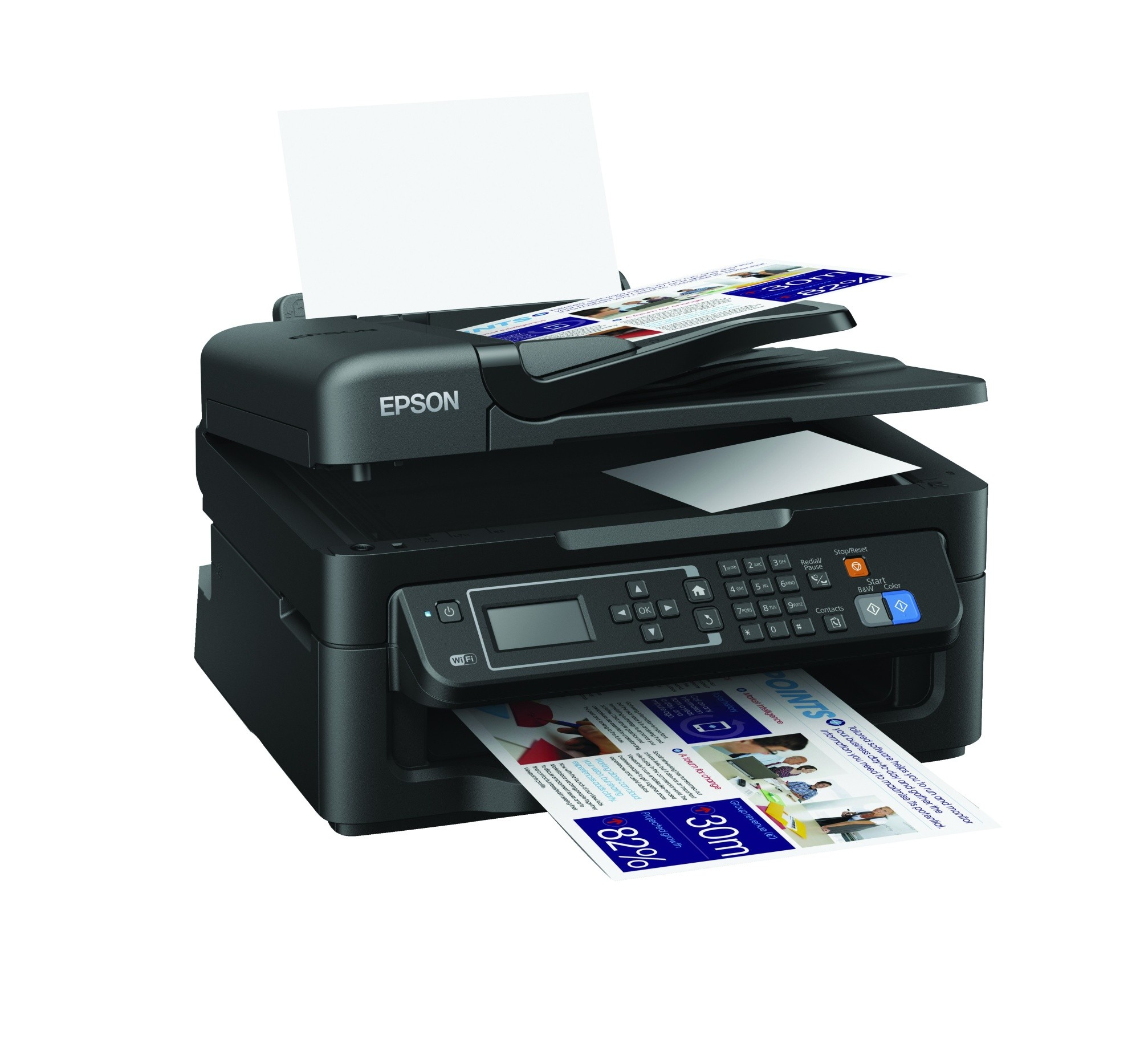 how to use epson printer wifi