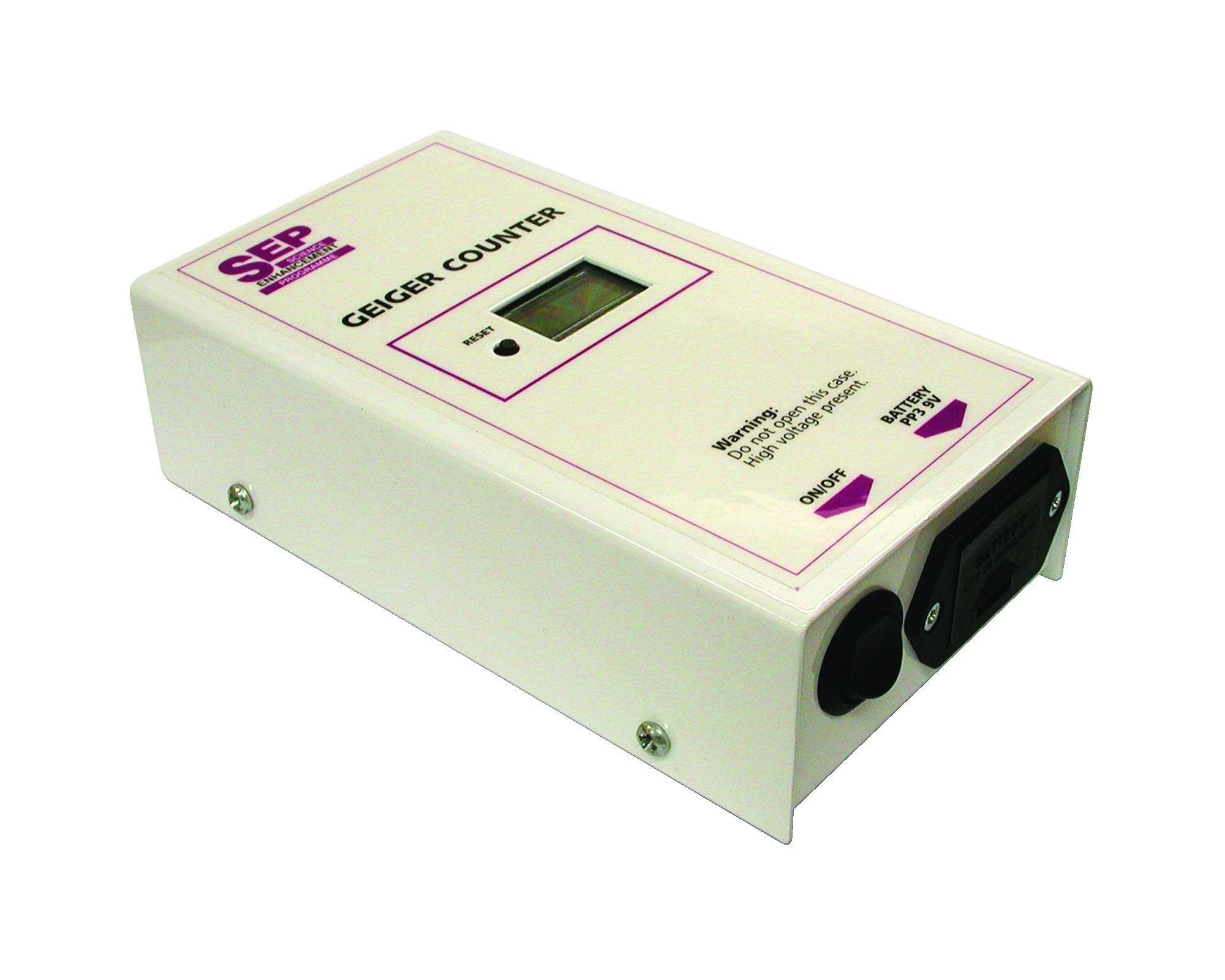 Digital Geiger Counter : Geiger counter detecting alpha beta gamma radiation gieger