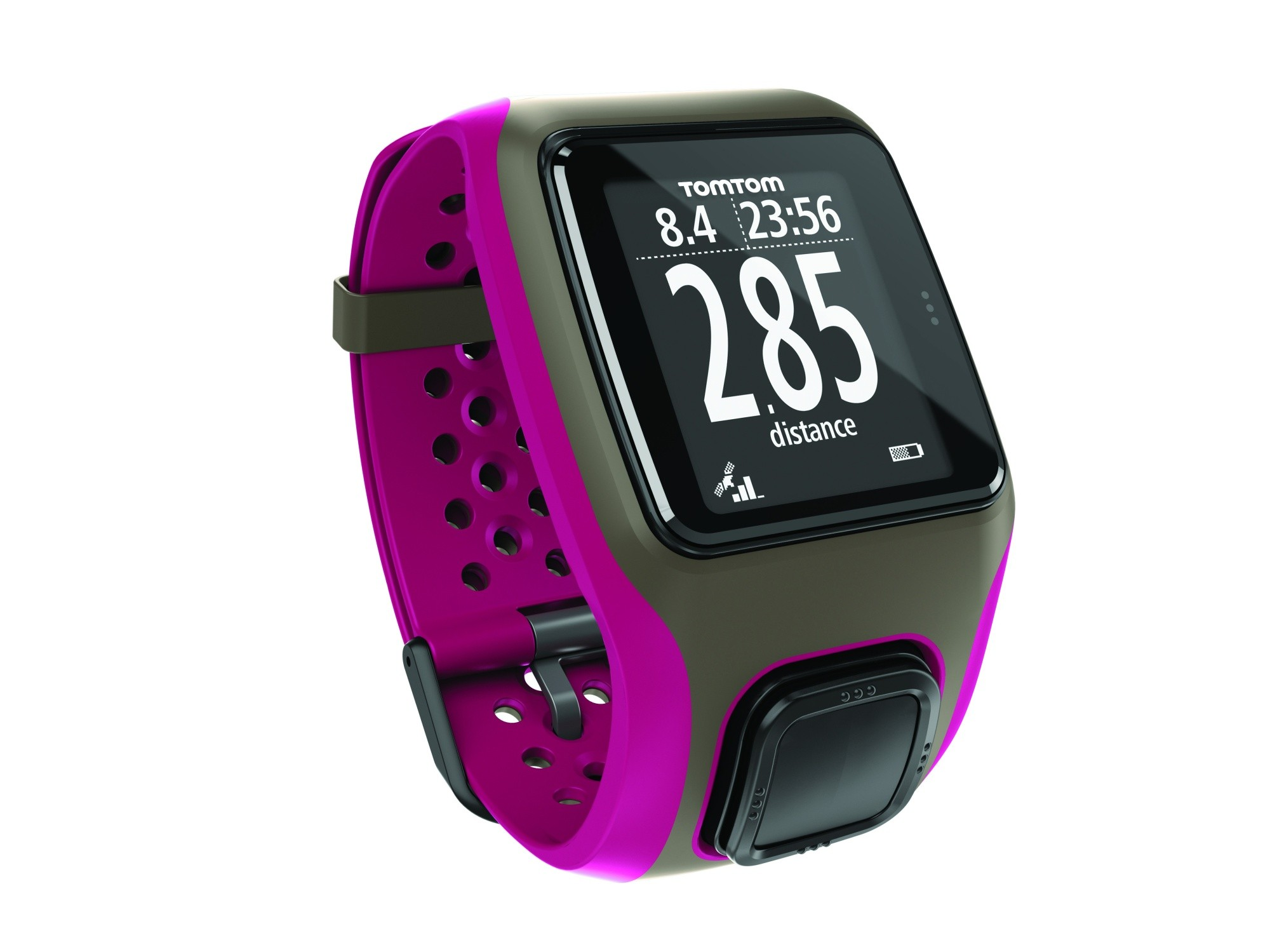 tomtom multi sport gps pink tracking built in swim