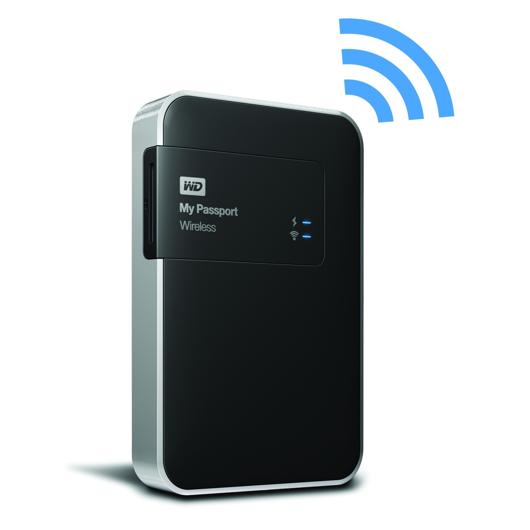 Wd 1tb my passport wireless 2 5 usb 3 0 external portable - Porta hard disk esterno 2 5 ...
