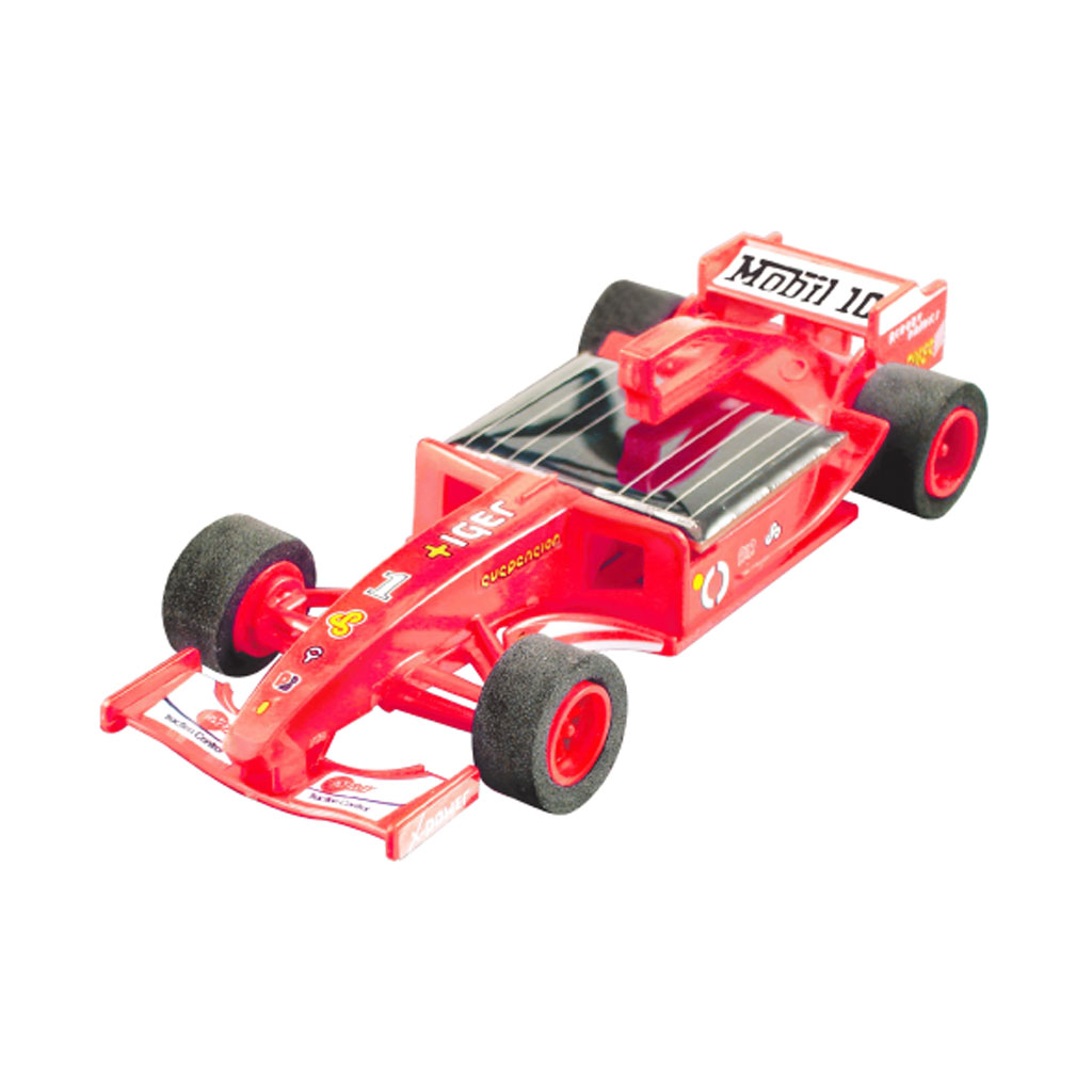 Build Your Own Car Kit >> SOLAR POWERED RACING CAR KIT FORMULA ONE TOY 10+ AGES RED | eBay