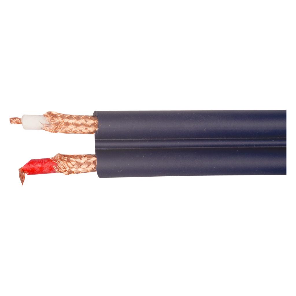 van damme shotgun twin audio interconnect hi fi speaker cable 12x4mm dia ebay. Black Bedroom Furniture Sets. Home Design Ideas