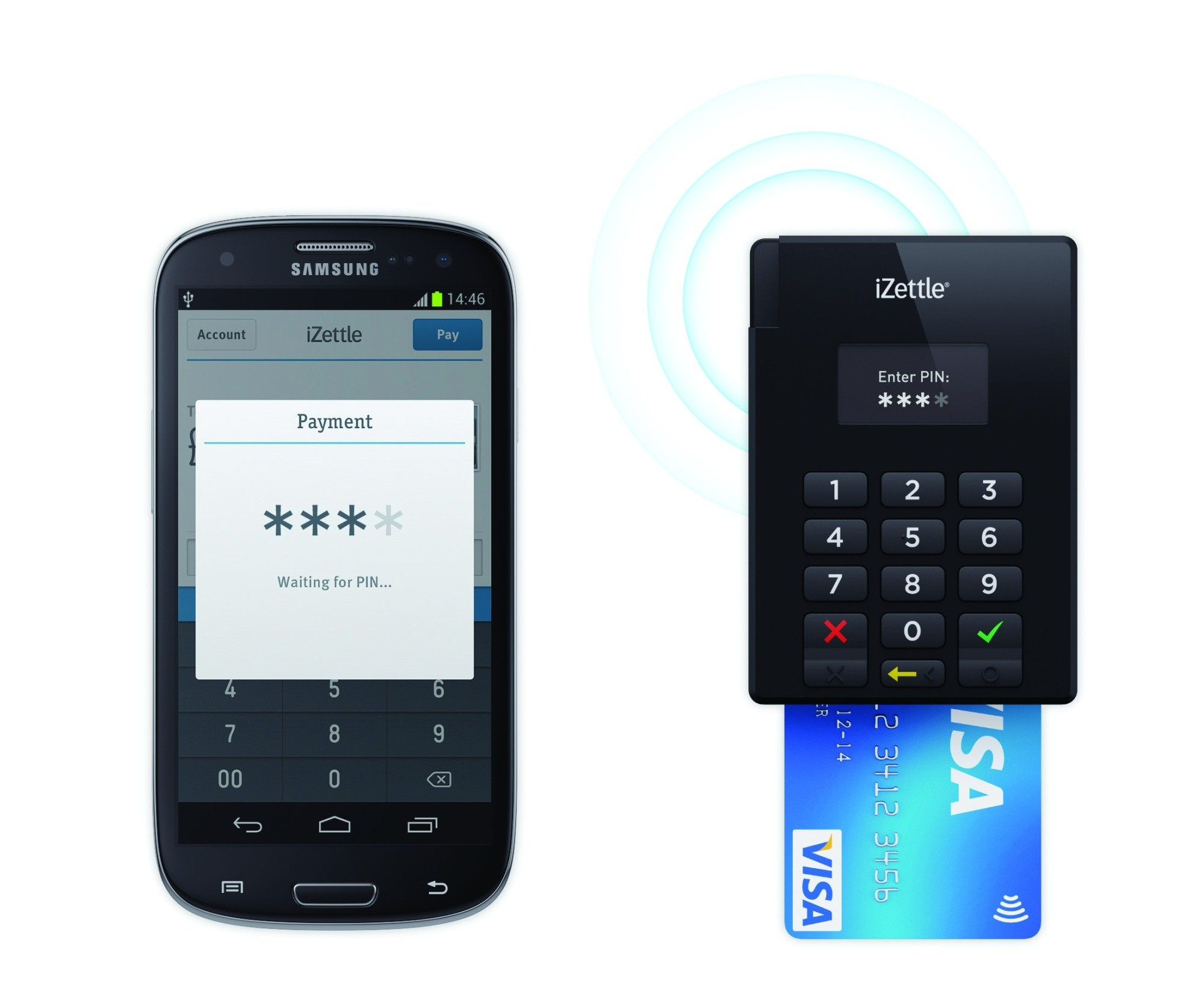 Bluetooth card reader android