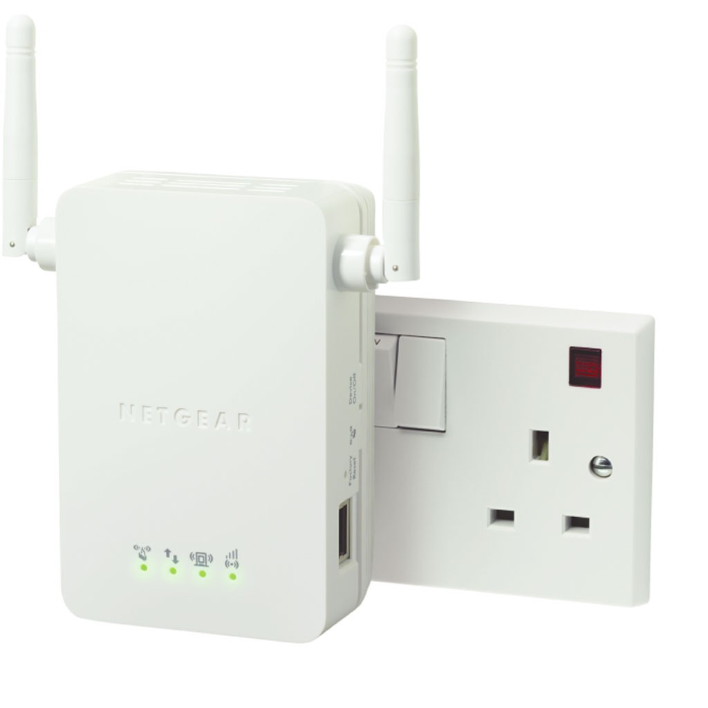 Netgear universal wi fi wireless network range extender - Wireless extender with ethernet ports ...