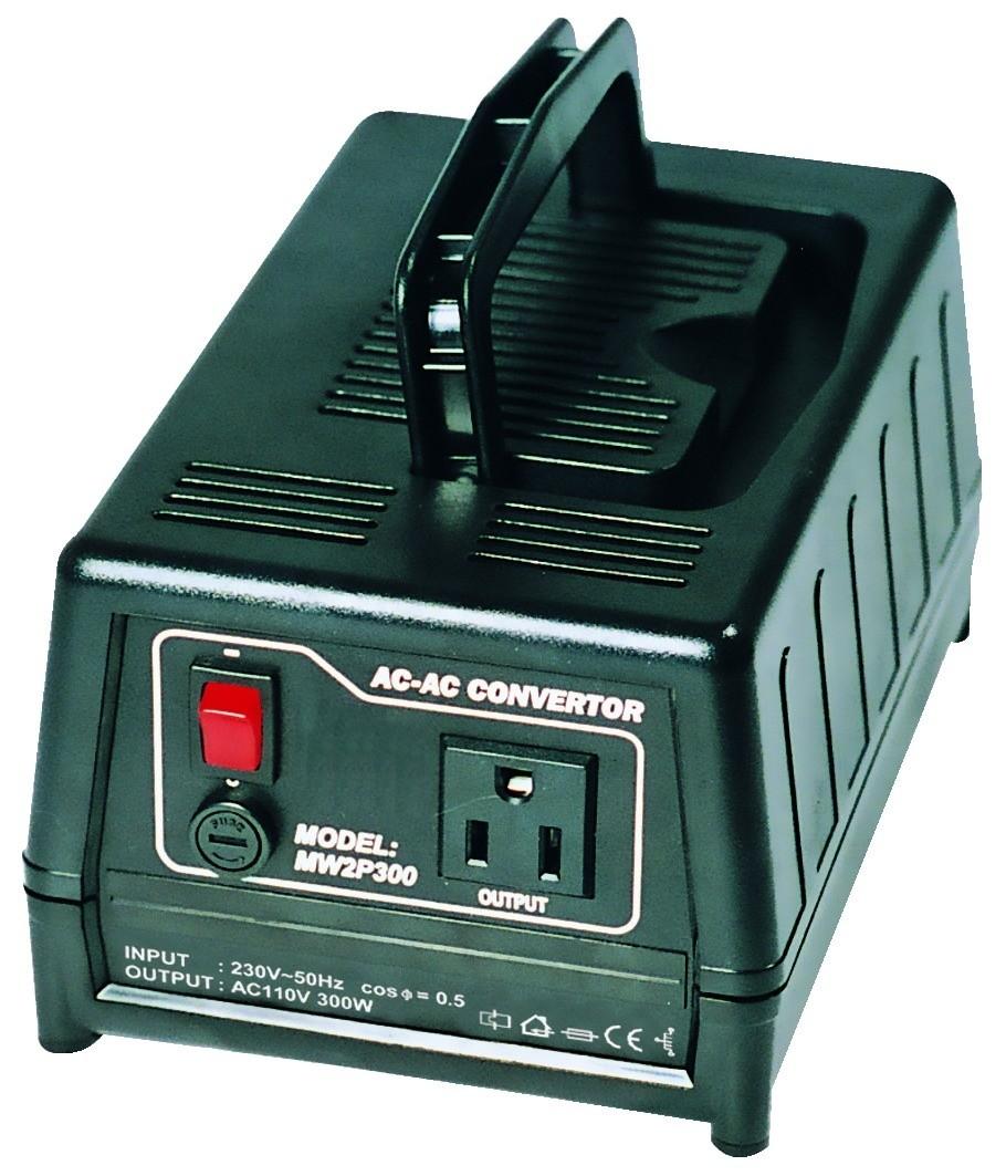 Maplin 230v To 110v 300w Voltage Converter Uk Mains Plug