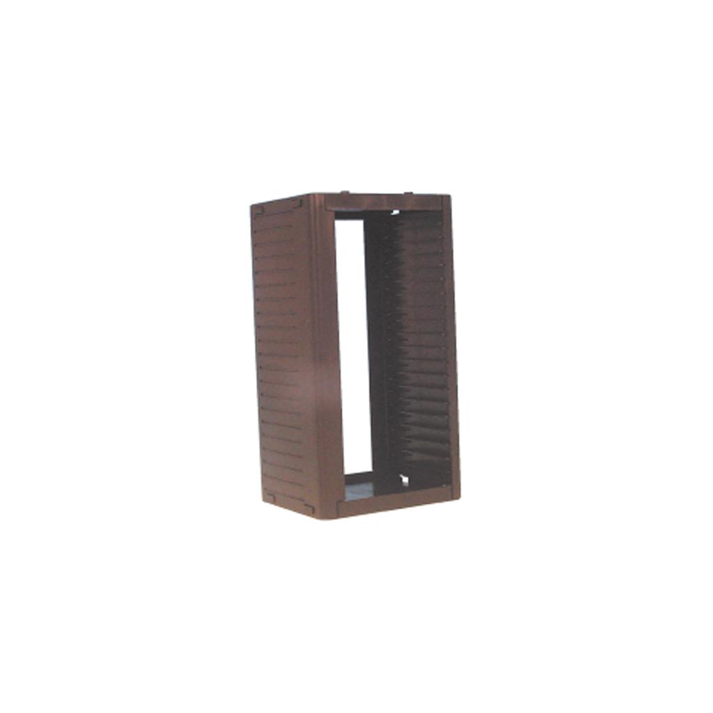 26 Cd Storage Rack Tower Black New Ebay