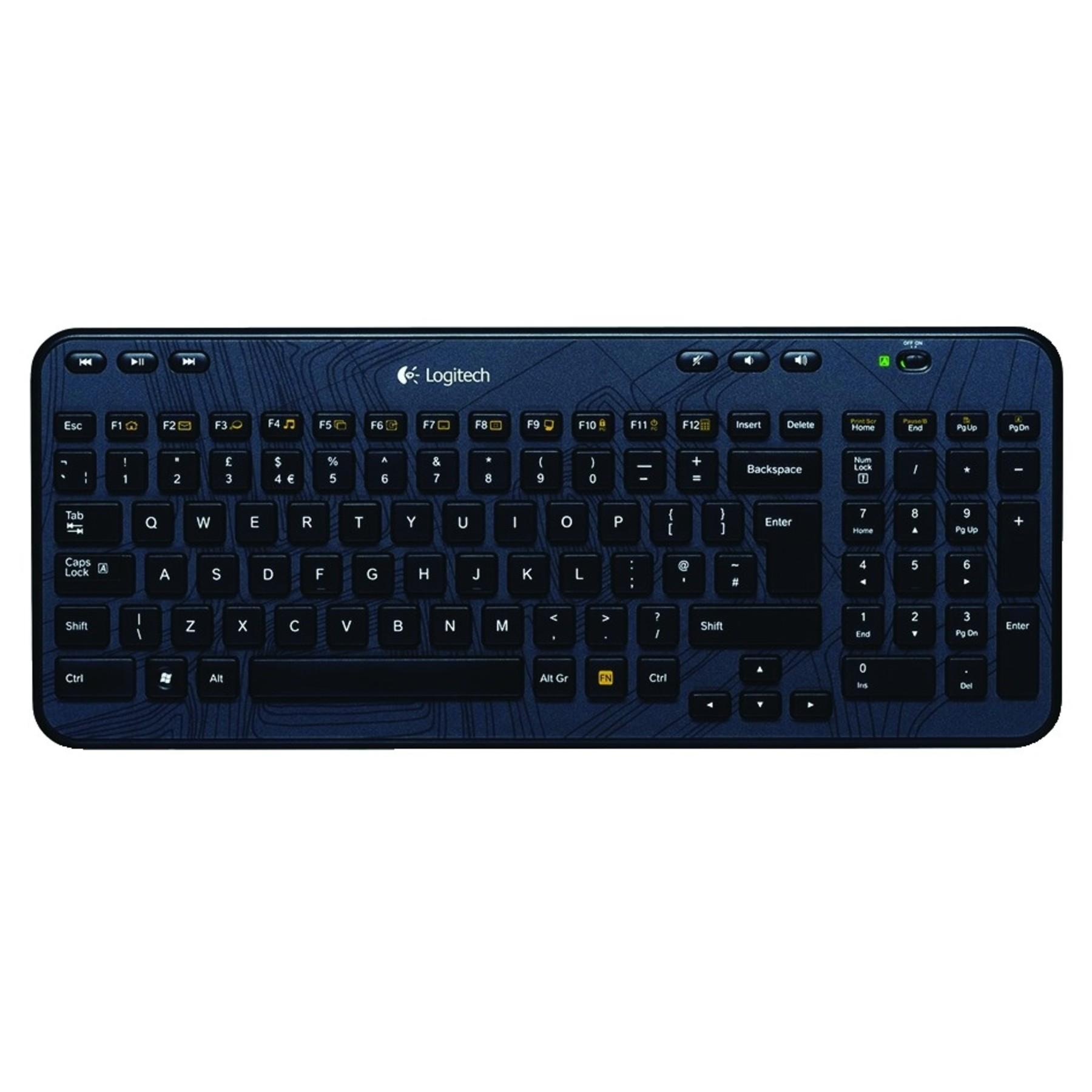 Logitech K360 Wireless Keyboard 24GHz Unifying Receiver