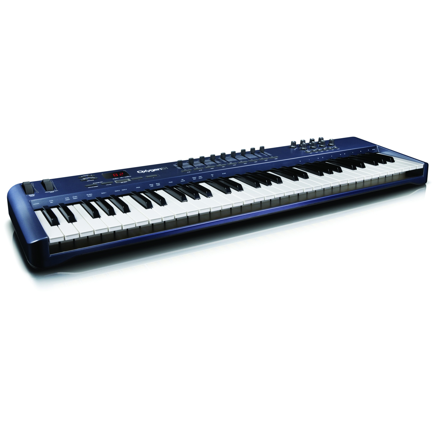 m audio oxygen 61 61 key usb midi keyboard controller ebay. Black Bedroom Furniture Sets. Home Design Ideas